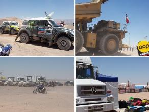 Calama recibió Dakar 2014 con calor infernal y fuertes vientos con arena