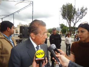Cajamarca: alcalde provincial invocó a jóvenes no cometer excesos