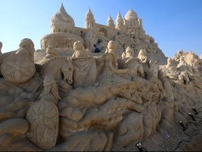 ´Las mil y una noches´ recreada en una aldea de arena
