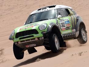 Dakar 2014: Stéphane Peterhansel gana la novena etapa del rally en autos