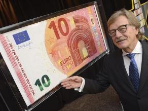 Nuevo billete de 10 euros entrará en circulación el 23 de septiembre