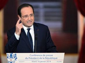 Hollande: Los asuntos privados se tratan en privado