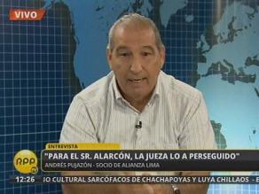 Andrés Pujazón: Es indignante que Alarcón se aparezca haciéndose la víctima