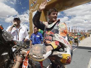 Dakar 2014: Marc Coma gana la novena etapa y sigue líder en motos