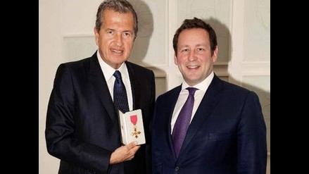 Mario Testino recibió Orden del Imperio Británico