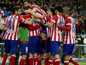 Atlético de Madrid gana a Valencia y avanza en la Copa del Rey