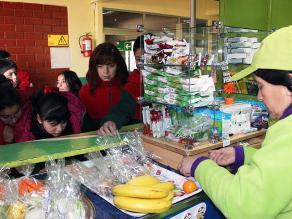 Nueve de cada diez escolares no consume frutas