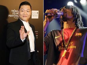 Snoop Dogg participa en grabación del nuevo tema de Psy en Corea del Sur