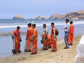 Tumbes: consejeros regionales remitirán informes del derrame de petróleo
