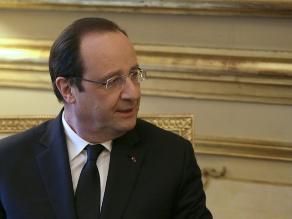 Baja popularidad de Hollande se mantiene estable tras presunto romance