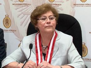 Junta de fiscales acepta renuncia de Gladys Echaíz al Ministerio Público