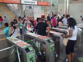 Justifican cambio a tarjetas personalizadas para cobro en Metro de Lima