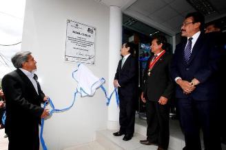 Inauguran nueva sede del hospital de la Solidaridad en Cusco