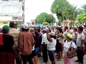 Protestantes bloquearon Panamericana Norte por incumplimiento de obras
