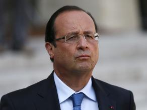 Imagen personal de Hollande sufre una fuerte caída entre los franceses