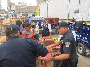 Chiclayo: Sigue desalojo de ambulantes de calles cercanas a Moshoqueque