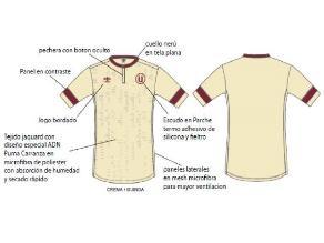 d899b4807013d Universitario  conoce más detalles de la nueva camiseta crema