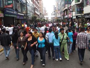 Lima cuenta con 8,7 millones de habitantes