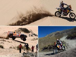 Tripulación peruana cerca de culminar el rally Dakar 2014