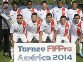 Selección de Agremiados logra el título FIFPro América 2014 en Chile