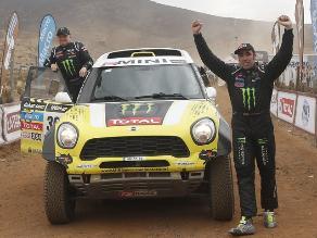 Dakar 2014: Nani Roma es campeón del rally en autos