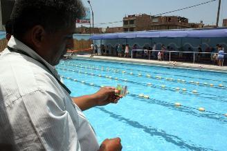 Fiscalía exhorta a denunciar a locales con piscinas en mal estado