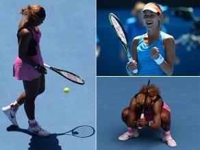 Revive la derrota de Serena Williams en el Abierto de Australia