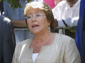 Michelle Bachelet: Esperamos un fallo ajustado a derecho