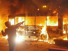 Violencia en Ucrania: Calles de Kiev se convierten en campos de batalla