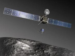 Empieza cuenta atrás para el primer aterrizaje en un cometa