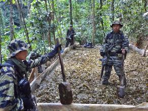Huánuco: destruyen más de mil 300 kilos de insumos químicos