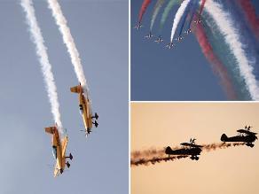 Bahrain International Airshow 2014: espectáculo aéreo militar