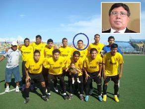 Abogado de Guillermo Alarcón también es jugador de Copa Perú