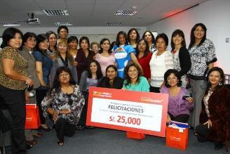 Lanzan el 8° Premio a la Mujer Microempresaria
