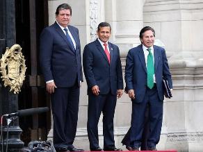 La reunión de Ollanta Humala con Alan García y Alejandro Toledo