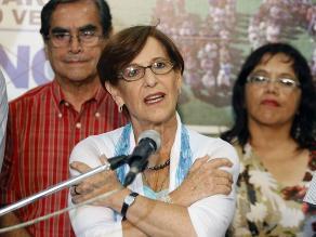 Tapia y Bruce niegan que la alcaldesa sea criticada por ser mujer