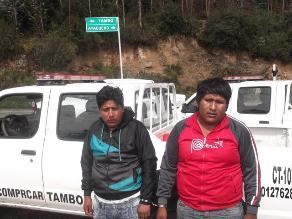 Ayacucho: intervienen a sujetos con más de 9 kilos de cocaína