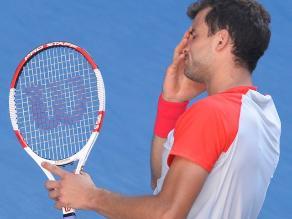 Dimitrov lloró dos veces su derrota ante Nadal en Australia