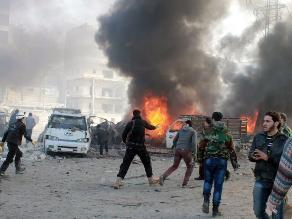 ¿Se recuperará la paz? Imágenes de la desgracia en Siria