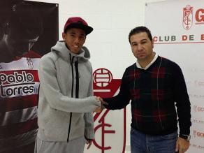 Sergio Peña ya firmó y es nuevo jugador del Granada CF de España