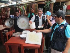 Intervienen cuatro cevicherías con problemas de higiene en Chimbote