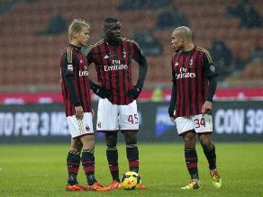 Milan cae 2-1 de local ante Udinese y queda fuera de la Copa de Italia
