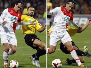 Paso a paso: Así fue la lesión de Radamel Falcao en la Copa de Francia
