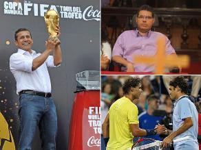 Lo más destacado de hoy: La Copa del Mundo llegó al Perú, ordenan impedimento de salida del país de Urtecho y semifinales del Abierto en Australia enfrentará a Federer con Nadal