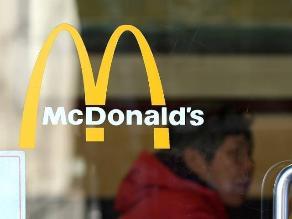 Ventas globales de McDonalds bajan por disminución de clientes