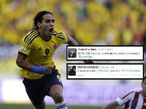 Artistas del mundo alientan en Twitter a Radamel Falcao tras lesión