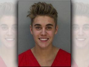 Justin Bieber luce sonriente tras detención
