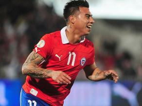 Chileno Eduardo Vargas jugará en el Valencia de España