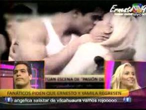 Combate: Fans piden que Yamila y Ernesto retomen su relación