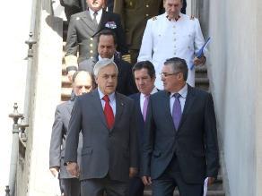 Piñera escuchará fallo junto a sus ministros en La Moneda